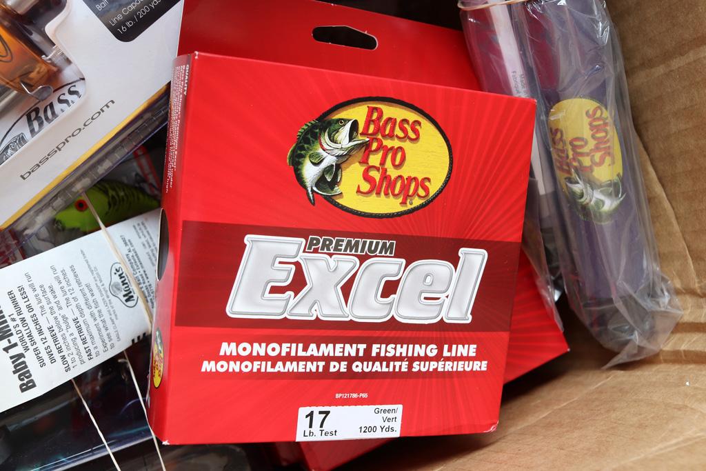 クオリティ、コスパともに優れる人気の「ナイロン ライン エクセル / Excel Monofilament Line」も再入荷しました。
