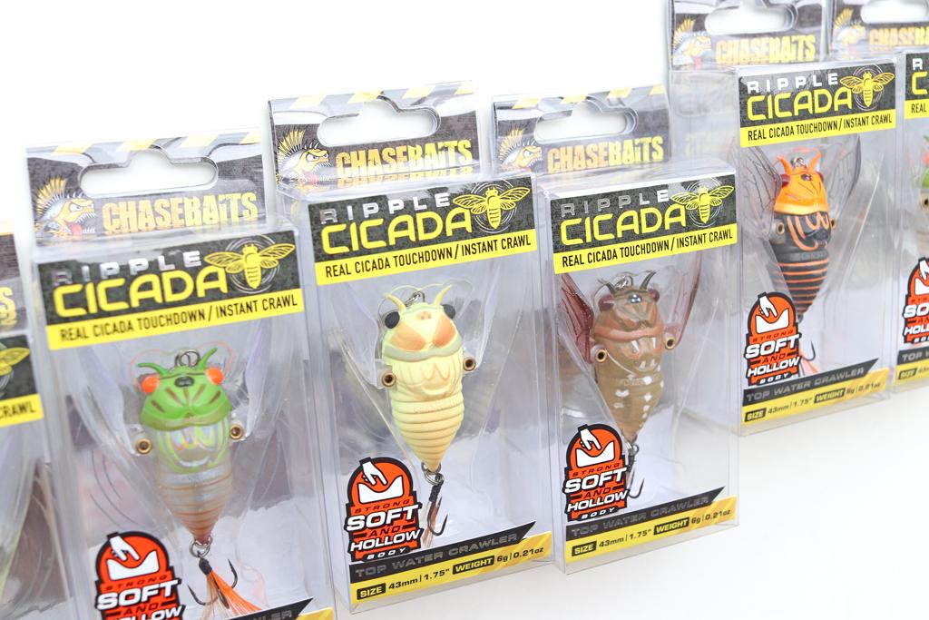 「チェイスベイツ / Chasebaits」の『リップル シケーダー / Ripple Cicada』。
