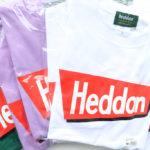 暑い夏に最適、へドン「ヘドン T-シャツ 2020」入荷しました!