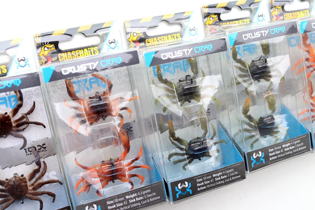 「チェイスベイツ / Chasebaits」の『クラスティ クラブ / Crusty Crab』