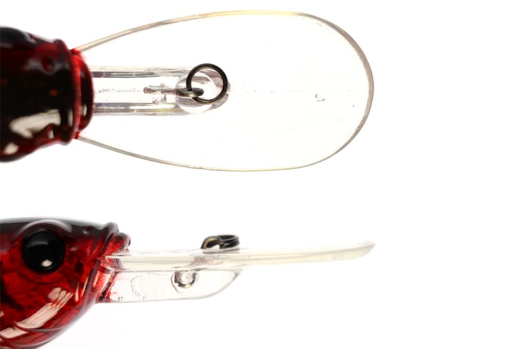 浮き上がりの早いタイト アクションに強めのラトル サウンド、そしてリアルなカラー ラインナップが特徴的なディープ クランクです。
