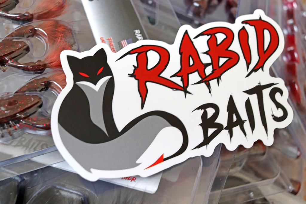 『ラビッド ベイツ / Rabid Baits』は新興のソフト プラスティック メーカー!