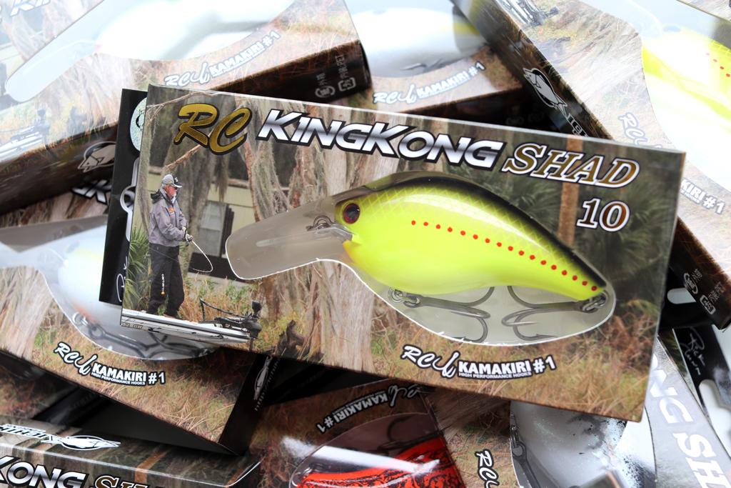 「イチカワ フィッシング / Ichikawa Fishing」の『RC キングコング シャッド 10 / RC King Kong Shad 10』