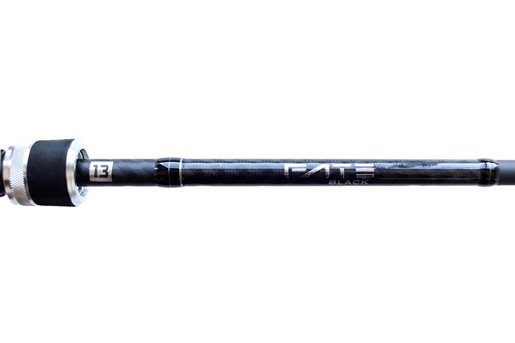 「13 フィッシング / 13 Fishing」の『フェイト ブラック ベイトロッド / Fate Black Casting Rod』
