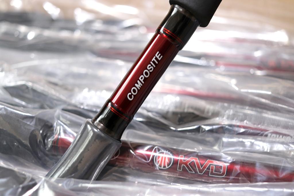 『KVD コンポジット クランキング ベイトロッド / KVD Composite Cranking Casting Rod』