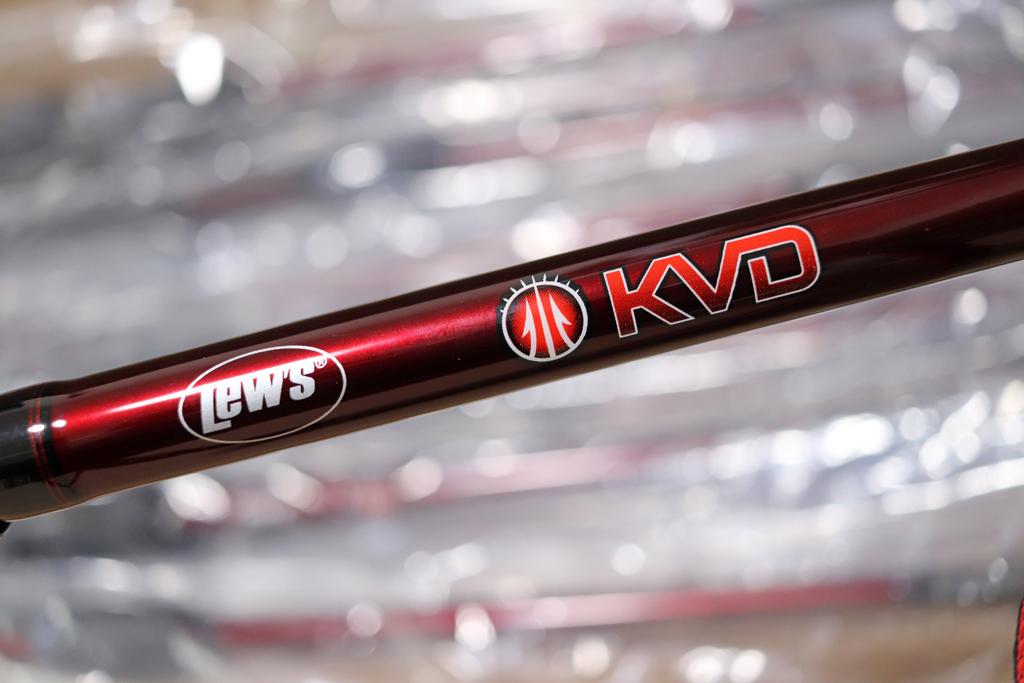 「ルーズ / Lew's」の『KVD ベイトロッド / KVD Casting Rod』