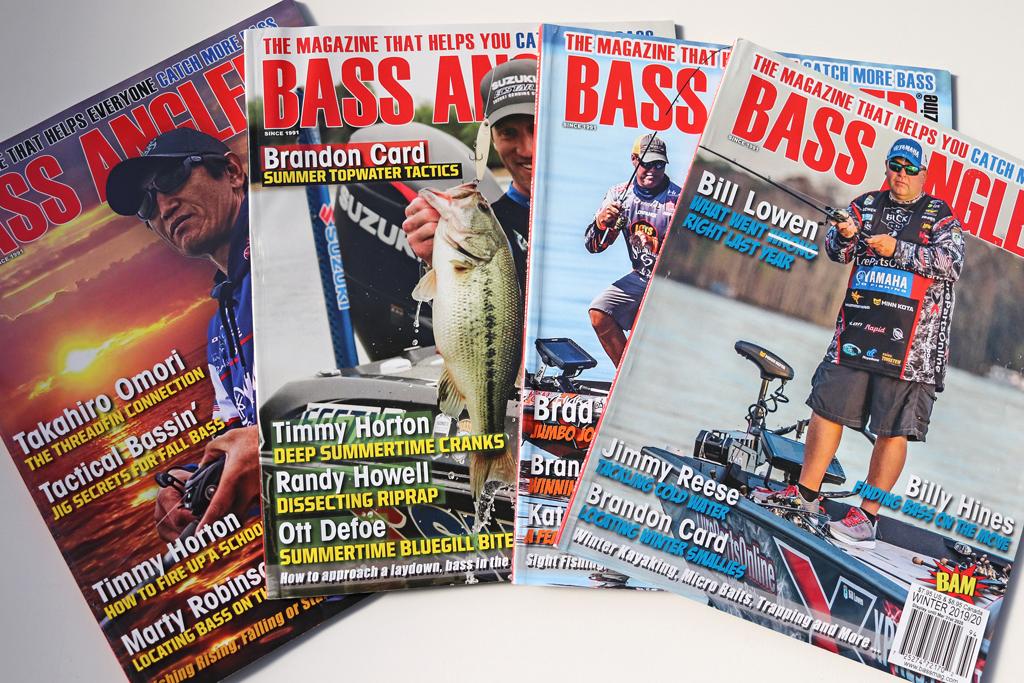 『バス アングラー マガジン 2020年 バックナンバー セット / 2020 Bass Angler Magazine Back Issue Set』