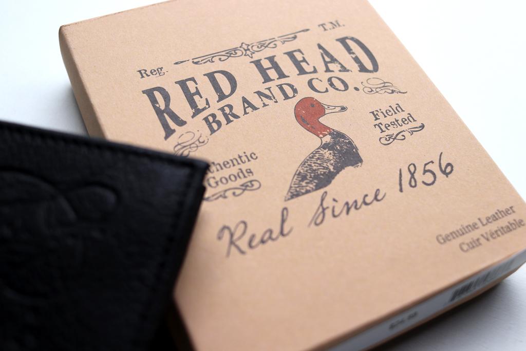 バス プロ ショップの別ブランド「レッド ヘッド / Red Head」の財布です。