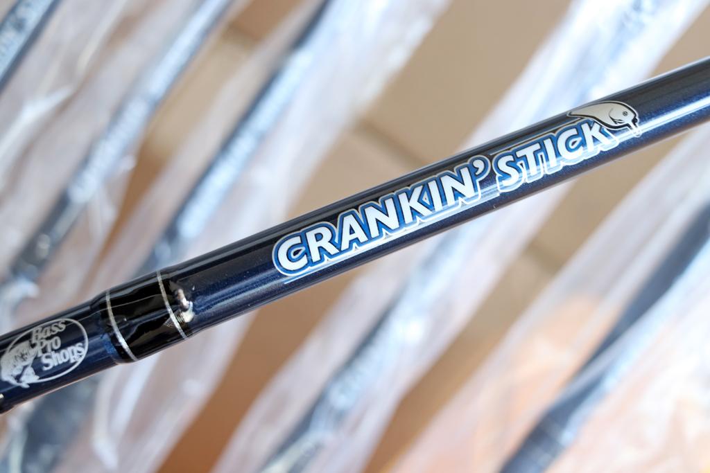 「バス プロ ショップス / Bass Pro Shops」の『クランキン スティック / Crankin' Stick Casting Rod』、再入荷しました!