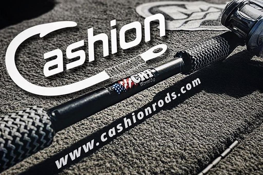 今や数少ない「made in the USA」を貫くロッド メーカー・・・、「キャッション / Cashion」。
